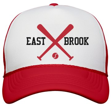 East Brook Softball Cap KC Caps Poly-Foam Snapback Trucker Hat