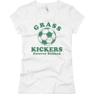 Grass Kickers Shirt Junior Fit Basic Bella Favorite Tee