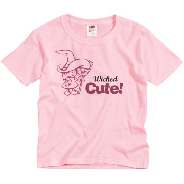 Wicked Cute Youth Basic Gildan Ultra Cotton Crew Neck Tee