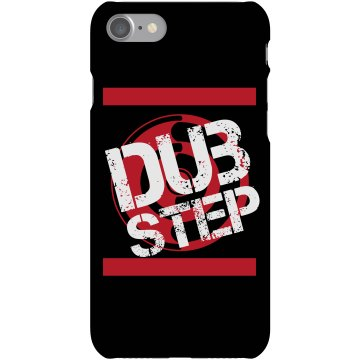 Dubstep Bass Music Plastic iPhone 5 Case Black