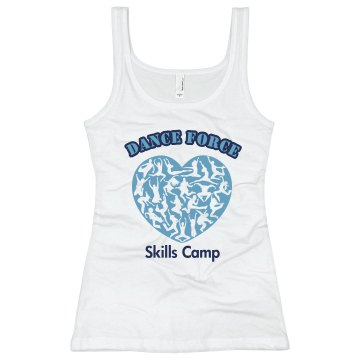 Dance Force Skills Camp Junior Fit Soffe 2x1 Rib Tank Top