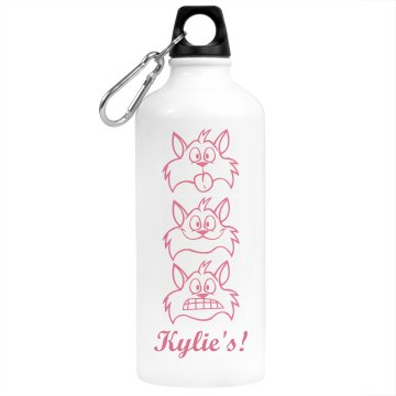 Kylie&#x27;s Desk Water Bottle Aluminum Water Bottle