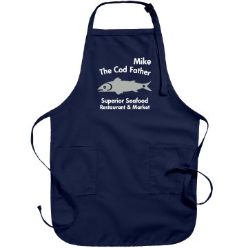 The Cod Father Apron Port Authority Adjustable Full Length Apron