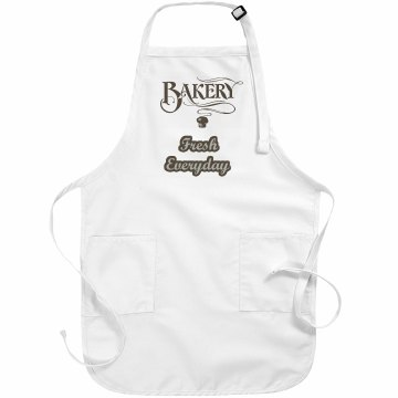 Fresh Everyday Apron Basic White Apron