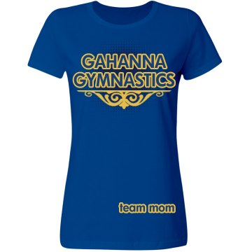 Gahanna Gymnastics Misses Relaxed Fit Gildan Ultra Cotton Tee