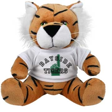 Striped tiger Plush Tiger
