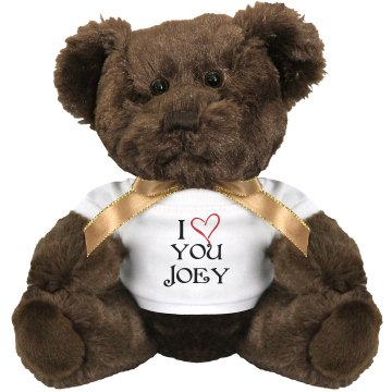 I Heart You Medium Plush Teddy Bear