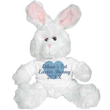 White Easter Bunny Plush Bunny