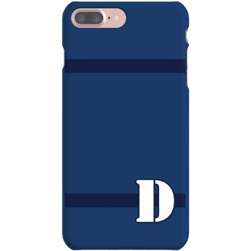 Custom D Monogrammed Case Plastic iPhone 5 Case White