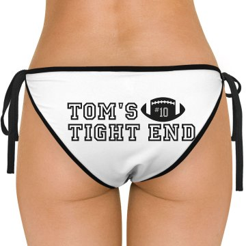 Tight End Bikini Bottom American Apparel Nylon Tricot Side-Tie Bikini Swimsuit Bottom