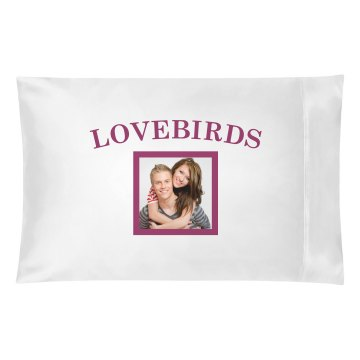 Lovebirds Pillowcase