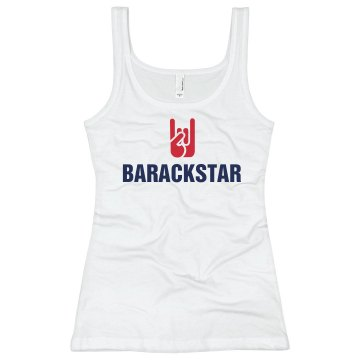 Barackstar Junior Fit Bella Sheer Longer Length Rib Tank Top