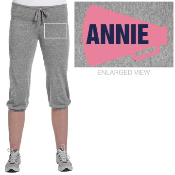Annie's Cheer Capris Junior Fit Soffe Fleece Capri