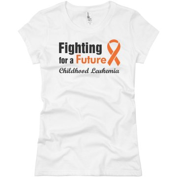 Fighting for a Future Junior Fit Basic Bella Favorite Tee