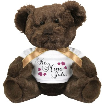 Be Mine Julie Medium Plush Teddy Bear