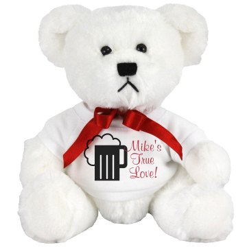 Mike's True Love Medium Plush Teddy Bear