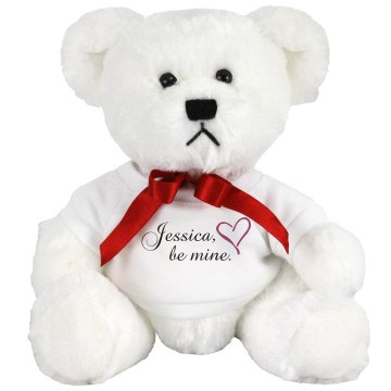 Jessica Be Mine Medium Plush Teddy Bear
