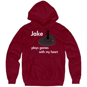 Jake Plays Games Unisex Hanes Ultimate Cotton Heavyweight Hoodie