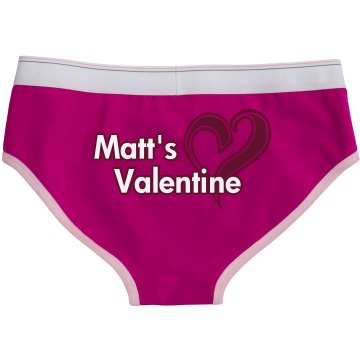 Matt's Valentine Bella Logan Boyfriend Brief