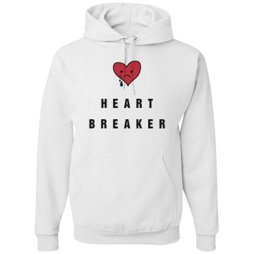 Heart Breaker Hoodie Unisex Gildan Heavy Blend Hoodie