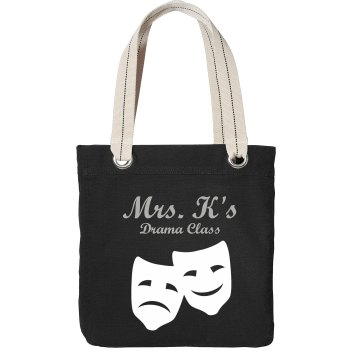 Drama Class Bag Port Authority Color Canvas Tote