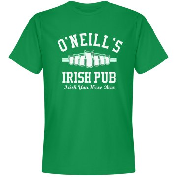 Irish Pub Unisex Gildan Heavy Cotton Crew Neck Tee
