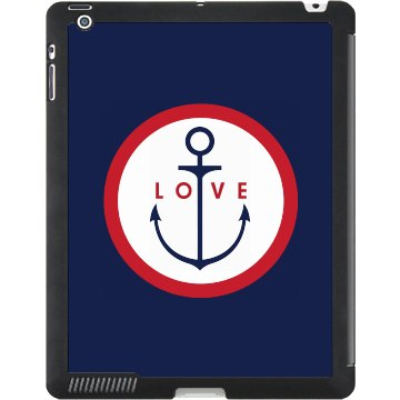 Anchor iPad Case Black iPad Smart Cover