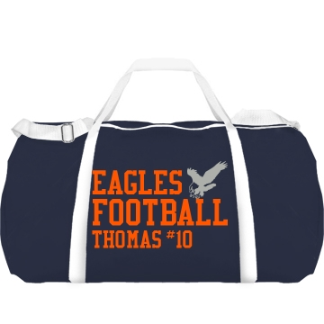 Eagles Football Augusta Sport Roll Bag