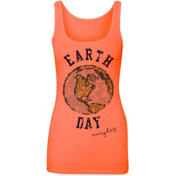 Earth Day Globe Tank