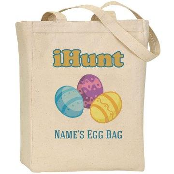 Easter Egg Hunt Custom Bag