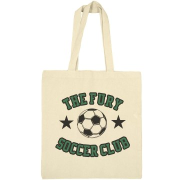 Custom Soccer Bag Liberty Bags Canvas Bargain Tote Bag