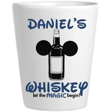 Daniel's Whiskey Ceramic Shotglass
