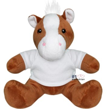 Number One Equestrian Plush Pony