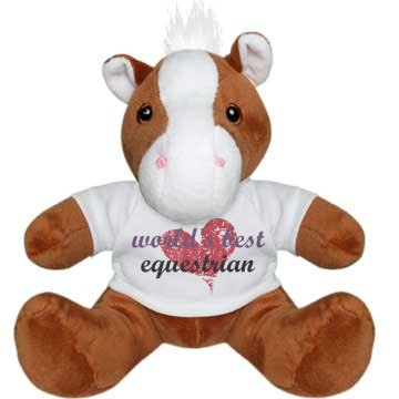 World's Best Equestrian Plush Pony