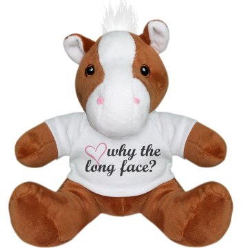 Why The Long Face Pony Plush Pony