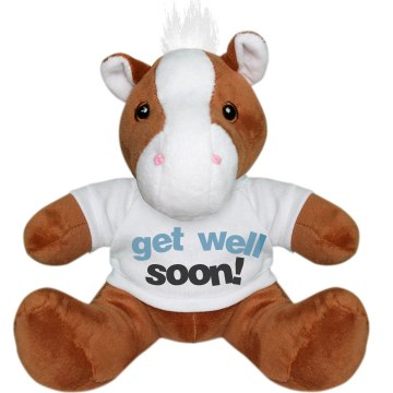 Get Well Soon Pony Plush Pony