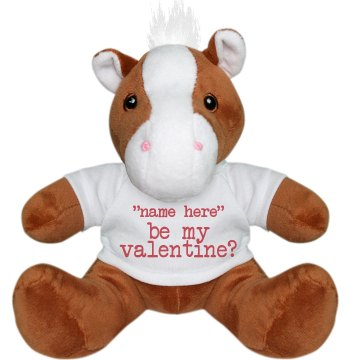 Be My Valentine Pony Plush Pony