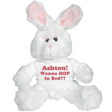 Be My Valentine Bunny Plush Bunny
