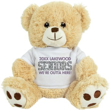 Seniors Graduation Bear Medium Plush Teddy Bear