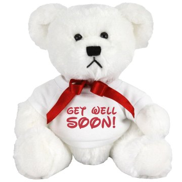 Get Well Soon Lion Plush Lion