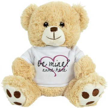 Be Mine Bear Medium Plush Teddy Bear