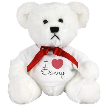 I Heart My Daddy Bunny Plush Bunny