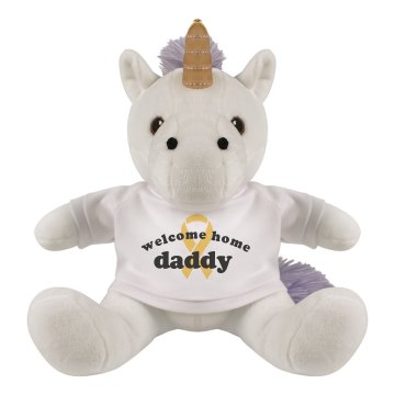 Welcome Home Daddy Bunny Plush Bunny