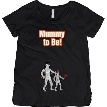 Mummy, Er, Mommy To Be Maternity LA T Sportswear Tee