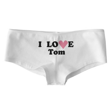 I Love Tom Bella Low Rise Thong