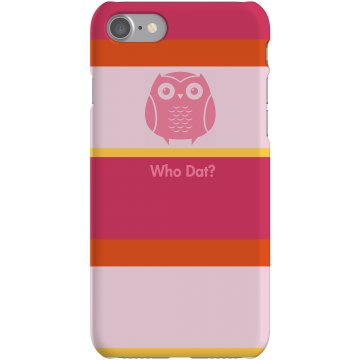 Owl Strip iPhone Case Plastic iPhone 5 Case White