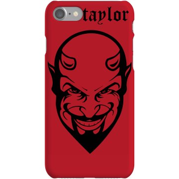 Idle Hands Devil Phone Plastic iPhone 5 Case Black