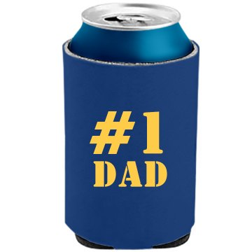 Number One Dad The Official KOOZIE Can Kooler