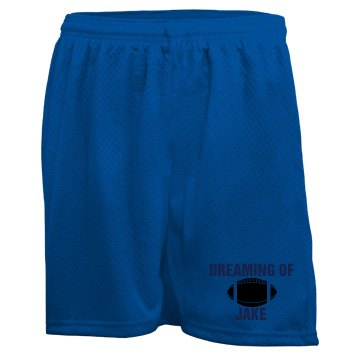 Dreaming Of Jake Ladies Badger 5'' Inseam Pro Mesh Tricot Shorts