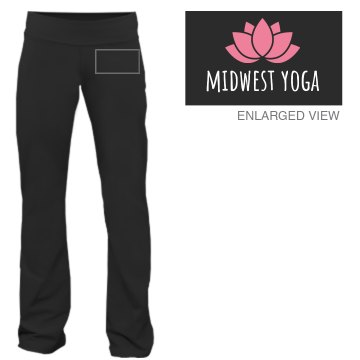 Midwest Yoga Junior Fit Bella Fitness Pants